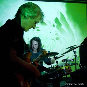 Arno van Nieuwenhuizen Peter Tiehuis en Frans van der Hoeven Mosterdavond Trianon Nijmegen Live geimprviseerde muziek